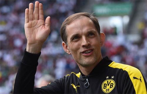 Tuchel nhiều khả năng sẽ dẫn dắt đội bóng nhà giàu PSG từ mùa sau. Ảnh: Sport1