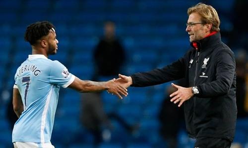 Liverpool là đội duy nhất hạ Man City ở Ngoại hạng Anh tính đến hiện tại. Ảnh: Reuters.