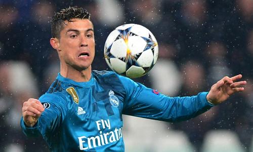 Ronaldo đã ghi chín bàn vào lưới Juventus ở Champions League. Ảnh: Reuters.