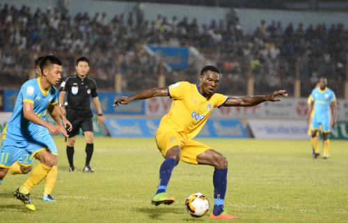 Thanh Hoá đại bại ở trận đấu bù V-League 2018