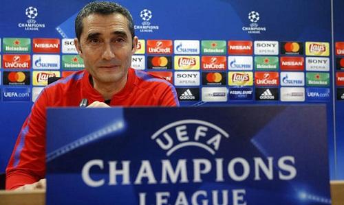 Valverde cảnh báo các học trò dù thắng đậm ở lượt đi. Ảnh: Marca.