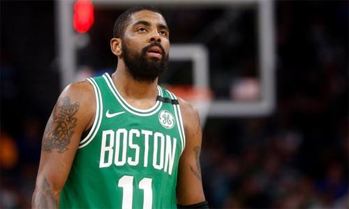 Mất Irving, hy vọng vô địch gần như tiêu tan với Celtics. Ảnh: AP.