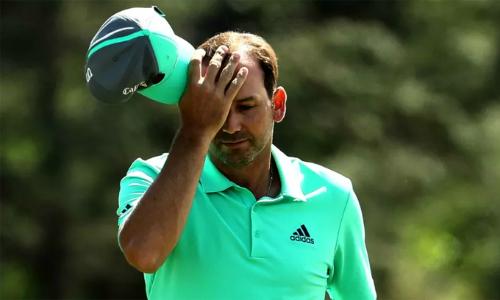 Sergio Garcia trải qua cơn ác mộng mang tên hố 15. Ở hố này năm ngoái, anh chỉ cần ba gậy để hoàn tất, ghi điểm eagle và bắt kịp Justin Rose trong cuộc đua vô địch. Ảnh: PGA Tour.