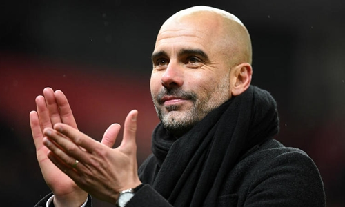 Man City của Guardiola thua Liverpool ở tứ kết lượt đi Champions League. Anh: Reuters.