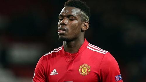 Pogba bị cho là không hạnh phúc tại Man Utd giai đoạn đầu năm 2018. Ảnh: PA.