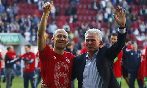 Bayern vô địch nước Đức năm thứ 6 liên tiếp