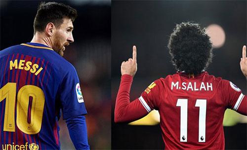 Messi đuổi kịp Salah bằng cú hat-trick mới nhất.