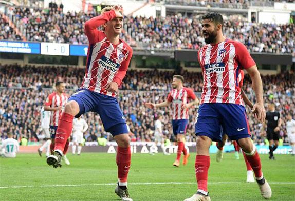 Griezmann không cho Real giành trọn ba điểm.