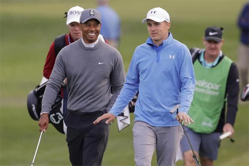 Sựtrở lại của Tiger Woods và phong độ ấn tượng của Jordan Spieth là những điểm nhấn tại Masters 2018.