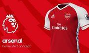 Arsenal có hợp đồng tài trợ áo đấu lớn thứ ba Ngoại hạng Anh