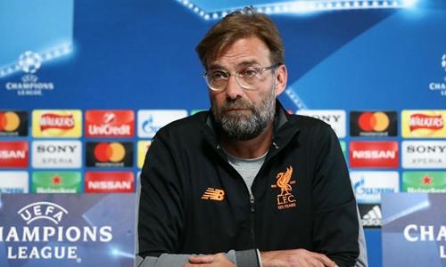 Klopp thận trọng trước trận tứ kết lượt về trên sân Man City. Ảnh: Reuters.