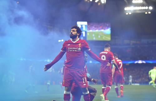 Tiền đạo 25 tuổi ghi bàn thứ tám tại Champions League. Ảnh:DM.