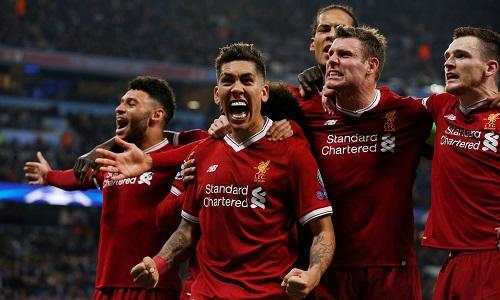 Liverpool đã ghi 33 bàn chỉ qua 10 trận Champions League mùa này. Ảnh: Reuters.