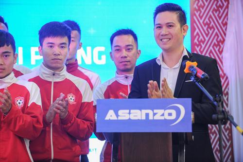 Mùa giải 2017 Hải Phòng có thêm sự đồng hành của nhà tài trợ Asanzo, thương hiệu điện tử Việt Nam.