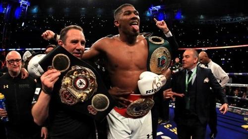 Joshua là võ sĩ quyền Anh hạng nặng được quan tâm nhất hiện nay. Ảnh: Reuters.