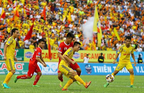 Mục tiêu của Nam Định tại V-League 2018 là trụ hạng thành công. Ảnh: VPF
