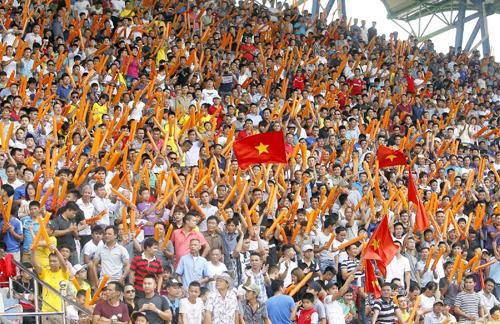 Sân Thiên Trường được kỳ vọng sẽ chật kín khán giả khi Nam Định đá trận ra quân. Ảnh: VPF