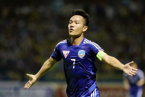 Món tiền thưởng lớn từ Bầu Hiển là nguồn động viên lớn cho Đinh Thanh Trung và đồng đội, trước khi Quảng Nam bắt tay vào chiến dịch V-League 2018.