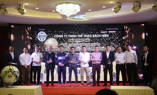 20 cầu thủ được đề cử danh hiệu 'Quả bóng vàng phủi' miền Bắc