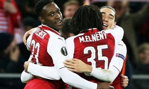 Arsenal là đại diện thứ hai của nước Anh ở bán kết các cup châu Âu, sau Liverpool. Ảnh: Reuters.