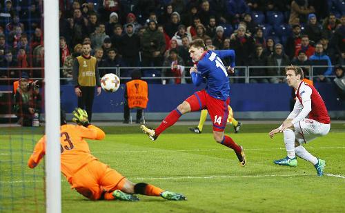 CSKA suýt chút nữa làm nên cơn địa chấn thứ hai của bóng đá châu Âu tuần này.