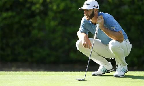 Dustin Johnson khởi đầu vất vả tại giải đấu quê nhà. Ảnh: PGA Tour.