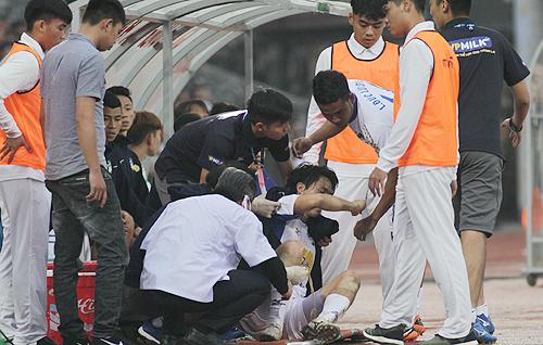 Tuấn Anh liên tục chấn thương, khiến sự nghiệp không thể tiến bộ như mong đợi. Ảnh: Quang Minh
