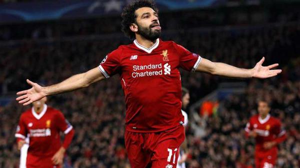 Salah sẽ tái ngộ đội bóng cũ AS Roma. Ảnh:AFP.
