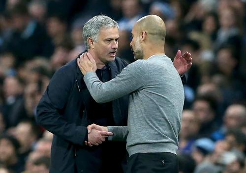 Mourinho và Guardiola sắp về chung một nhà. Ảnh: EPA.
