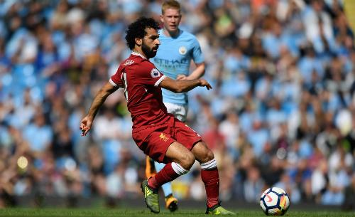 Salah nhỉnh hơn De Bruyne về cơ hội trở thành Cầu thủ hay nhất mùa. Ảnh: AFP.