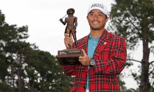 Kodaira nâng cao danh hiệu PGA Tour đầu tiên trong sự nghiệp ở tuổi 28. Anh là golfer số hai Nhật Bản, sau Hideki Matsuyama.