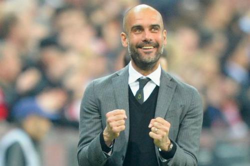 Guardiola có chức vô địch quốc gia thứ bảy kể từ khi chuyển sang nghiệp cầm quân. Ảnh:Reuters.