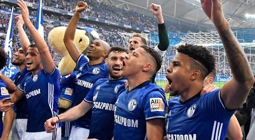 Schalke cầm chắc vé đi Champions League. Ảnh: AP.