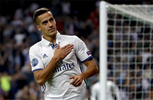 Lucas Vazquez ngày một chứng minh vai trò quan trọng đối với Real. Ảnh: Reuters