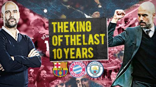 Tờ Marca (Tây Ban Nha) gọi Guardiola là nhà vua trong 10 năm qua. Ảnh:Marca.
