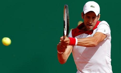 Djokovic tìm lại cảm giác chiến thắng sau ba thất bại liên tiếp. Ảnh: Reuters.