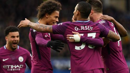 Man City sở hữu dàn cầu thủ đắt giá bậc nhất tại Ngoại hạng Anh sau khi Man City chi gần 700 triệu đôla để Pep Guardiola mua sắm. Ảnh:Sky Sports.