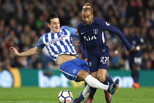 Hàng công của Tottenham không phát huy được sức mạnh như thường thấy. Ảnh: AFP.