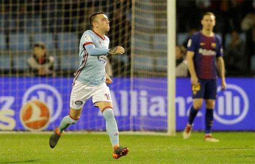 Cất nhiều ngôi sao, Barca chia điểm với Celta Vigo