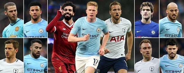 Tin thể thao tối 18/4: Man City áp đảo Đội hình tiêu biểu Ngoại hạng Anh