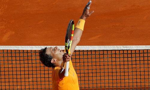 Nadal thắng nhàn Bedene ở vòng hai Monte Carlo Masters 2018. Ảnh: Reuters.