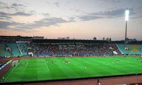 Trận derby giữaLevski Sofia và CSKA Sofia nổi tiếng với không khí bạo lực trong nhiều năm. Ảnh: Sportseries.