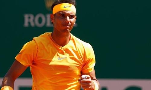 Nadal không gặp chút khó khăn nào khi gặp Thiem. Ảnh: Reuters.