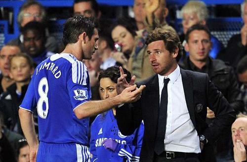 Villas-Boas không thành công khi dẫn dắt Chelsea. Ảnh: Sports Mail.