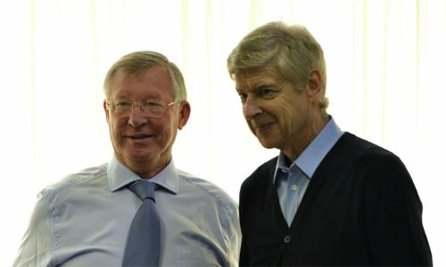 Wenger và Ferguson là những nhân chứng sống động cho hành trình vươn lên của Ngoại hạng Anh.