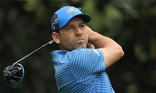 Sergio Garcia khởi đầu chậm chạp tại TPC San Antonio, sân golf do chính anh làm tư vấn thiết kế năm 2010.