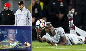 Quan hệ Mourinho - Pogba bị so sánh với Ferguson - Beckham
