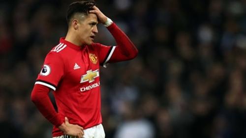 Sanchez chưa đáp ứng được kỳ vọng của Man Utd. Ảnh: PA.