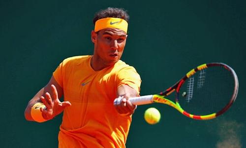 Nadal giữ phong độ rất ổn định trên sân đất nện. Ảnh: Reuters.