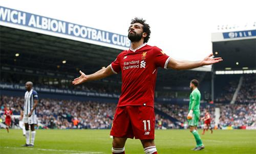 Một mình Salah đang có nhiều bàn thắng tại Ngoại hạng Anh mùa này hơn số bàn thắng của cả đội West Brom (29 bàn).